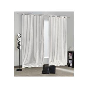 rideaux occultants hauteur 280 achat vente rideaux. Black Bedroom Furniture Sets. Home Design Ideas