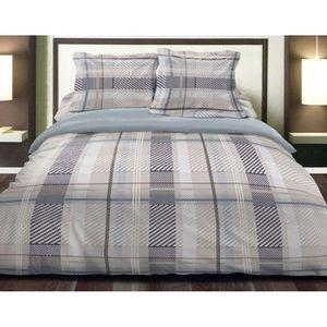 parure de lit 180x200 achat vente parure de lit 180x200 pas cher cdiscount. Black Bedroom Furniture Sets. Home Design Ideas