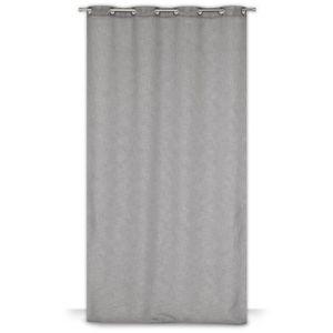 double rideaux noir et blanc achat vente double rideaux noir et blanc pas cher cdiscount. Black Bedroom Furniture Sets. Home Design Ideas
