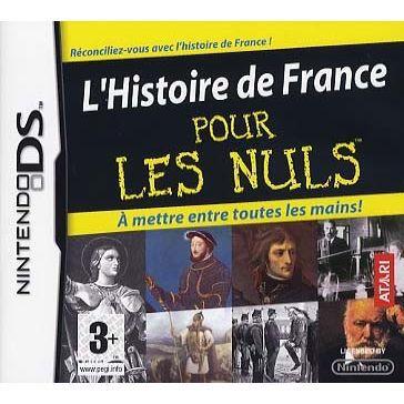 L 39 histoire de france pour les nuls jeu console n achat vente jeu ds dsi l 39 histoire de - Histoire des consoles de jeux ...