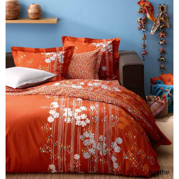 parure de lit agatha 200x200 achat vente parure de lit cdiscount. Black Bedroom Furniture Sets. Home Design Ideas