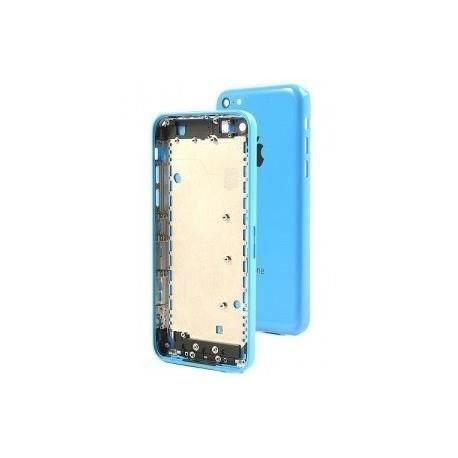 ch ssis coque fa ade arri re pour iphone 5c bleu achat coque bumper pas cher avis et. Black Bedroom Furniture Sets. Home Design Ideas
