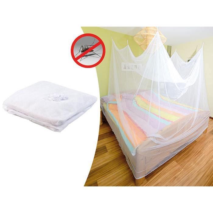 moustiquaire de voyage pour lit double achat vente moustiquaire de lit soldes cdiscount. Black Bedroom Furniture Sets. Home Design Ideas