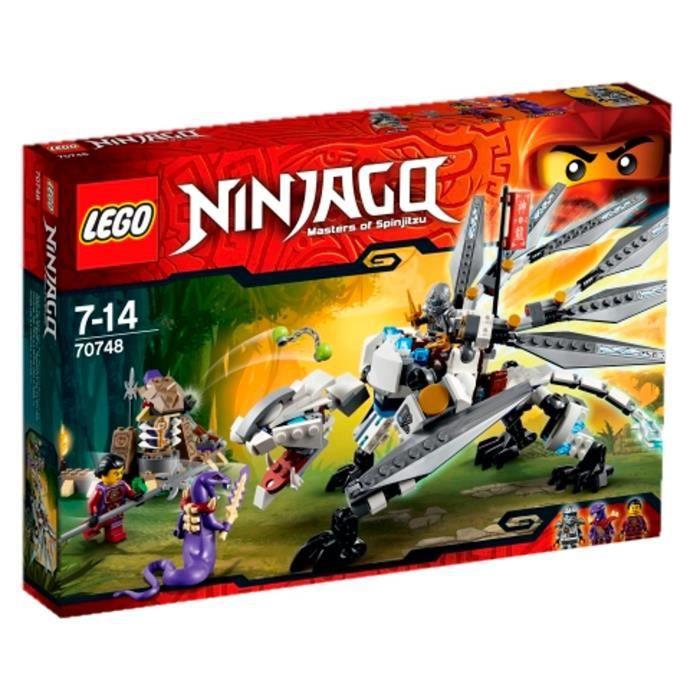 assemblage construction lego ninjago 70748 le dragon de titane
