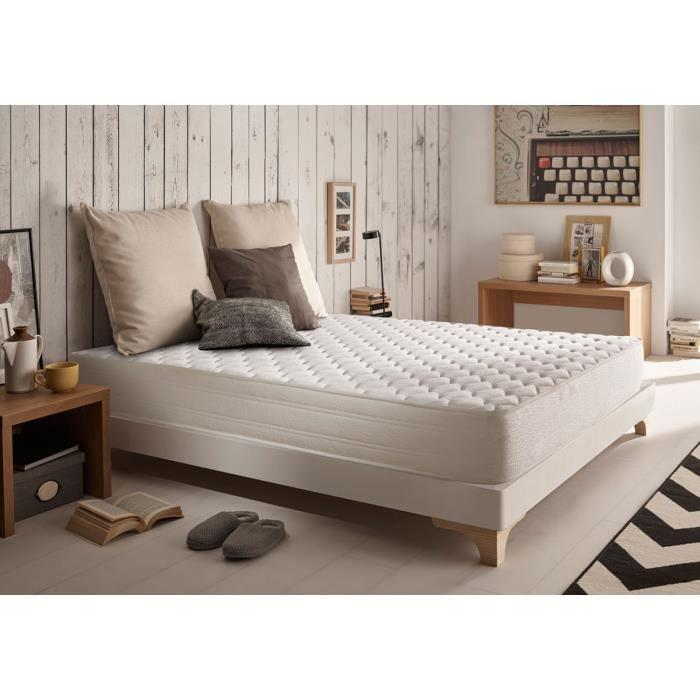 matelas ergo confort 140x200 cm blue latex 7 zones m moire achat vente matelas cdiscount. Black Bedroom Furniture Sets. Home Design Ideas