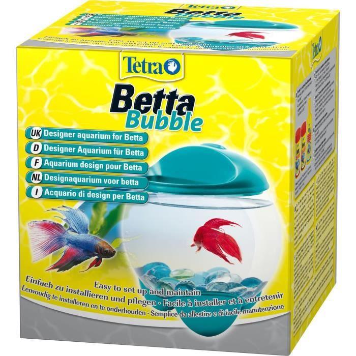 Tetra aquarium betta bubble turquoise achat vente for Bulleur pour aquarium boule