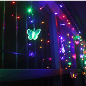 Guirlande papillon achat vente guirlande papillon pas cher les soldes - Guirlande lumineuse papillon ...