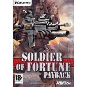 JEU PC SOLDIER OF FORTUNE PAYBACK / JEU PC DVD-ROM