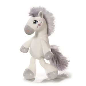 NICI Peluche Cheval Miracle Blanc 80cm