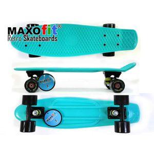 SKATEBOARD - LONGBOARD Maxofit ® skateboard mini cruiser style hawaï, 55