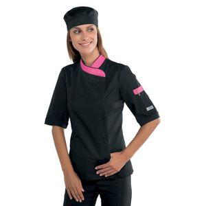 veste de cuisine femme - achat / vente veste de cuisine femme pas ... - Veste De Cuisine Pas Cher Noir
