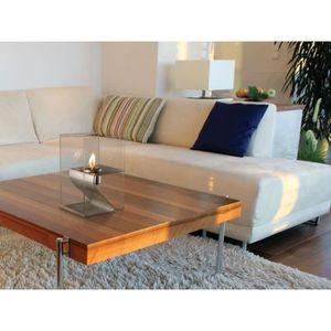 feu ethanol achat vente feu ethanol pas cher cdiscount. Black Bedroom Furniture Sets. Home Design Ideas