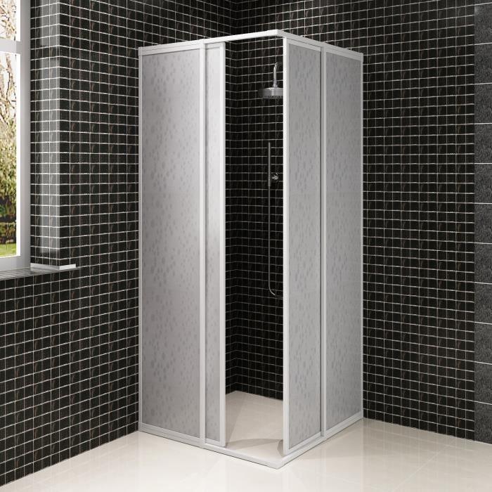 P88 cabine de douche en aluminium 80 x 80 cm achat vente cabine de douche - Cdiscount cabine de douche ...