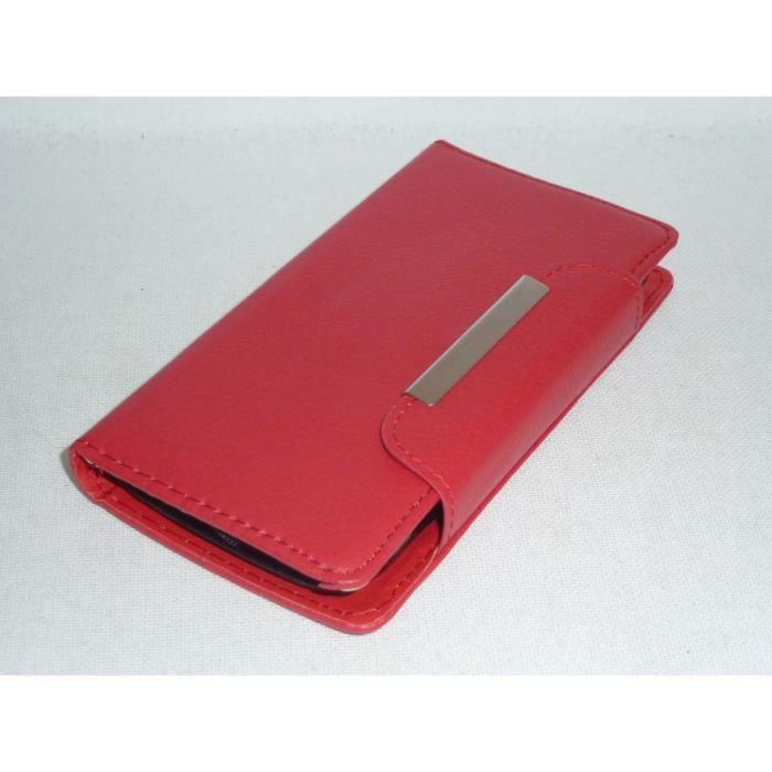 Housse portefeuille coque pochette pour wiko lenny achat for Housse wiko lenny 4