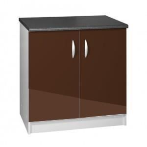 meuble cuisine bas 80 cm sous vier oxane cr me achat vente elements bas meuble cuisine bas. Black Bedroom Furniture Sets. Home Design Ideas