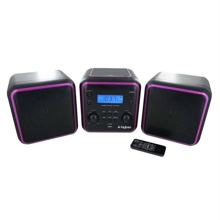 micro chaine radio cd mp3 usb noire 3 sets chaine hi fi avis et prix pas cher cdiscount. Black Bedroom Furniture Sets. Home Design Ideas
