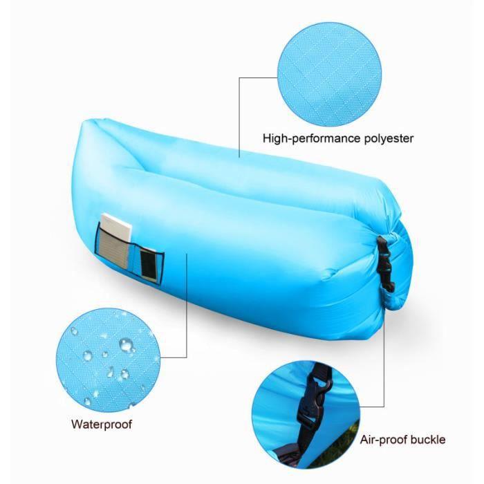 Canapé Hamac: Air Bag Gonflable Hamac Chaise Hangout Canapé-lit Canapé