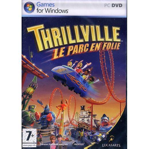 JEUX PC THRILLVILLE : LE PARC EN FOLIE / JEU PC DVD-ROM