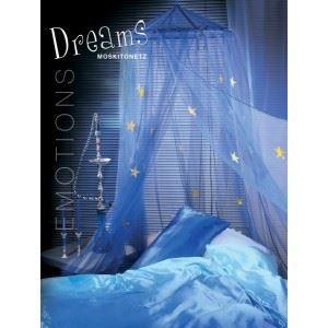 Moustiquaire ciel de lit d co 39 dreams 39 bleu achat vente moustiquaire de lit cdiscount - Ciel de lit bleu ...