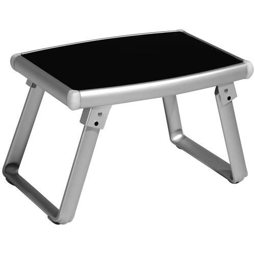 Table d 39 appoint volta aluminium noir achat vente - Table d appoint noire ...