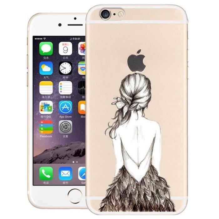 soft coque silicone pour iphone 6 6s 4 7. Black Bedroom Furniture Sets. Home Design Ideas