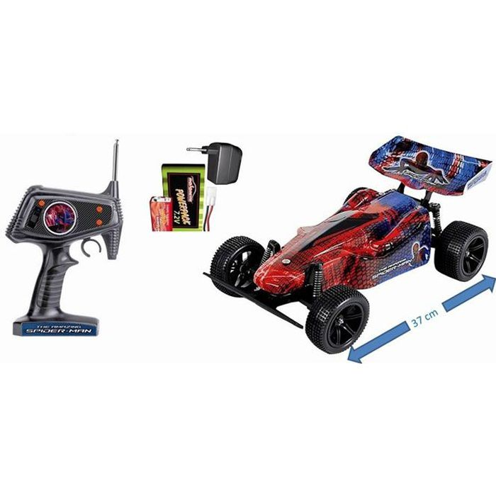 Spiderman voiture buggy radiocommand 1 10 achat vente voiture camion cdiscount - Spiderman voiture ...