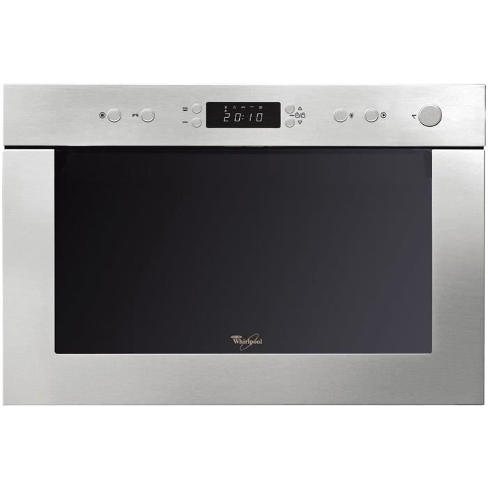 whirlpool amw 498 ix micro ondes 22 l argent achat. Black Bedroom Furniture Sets. Home Design Ideas