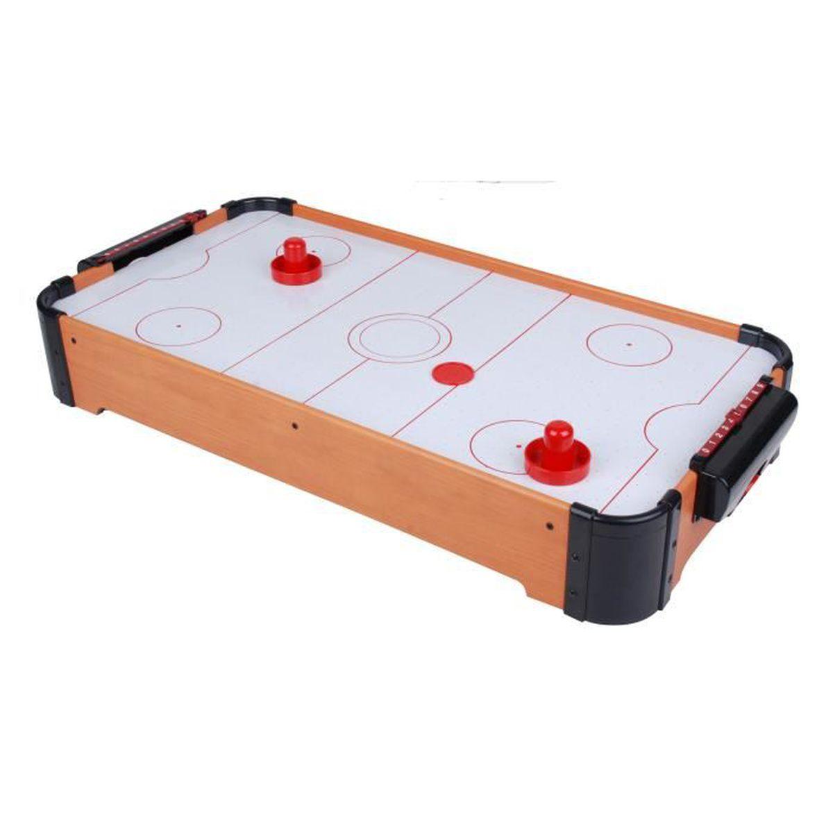 Hockey de table air puls 69 cm achat vente air for Table 6 jeux en 1