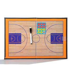 TABLEAU DE COACHING Pliant magnétique Basketball Tactique livre pour e