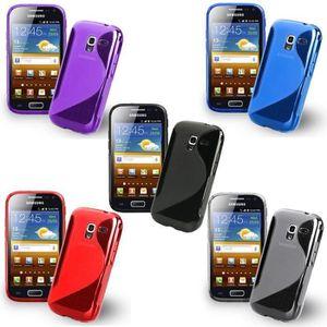 CHAUSSETTES wofalo Samsung Galaxy Ace 2 i8160 : Lot 5 Housse E