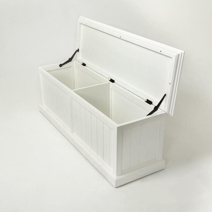 coffre en bois blanc cygne meuble house achat vente