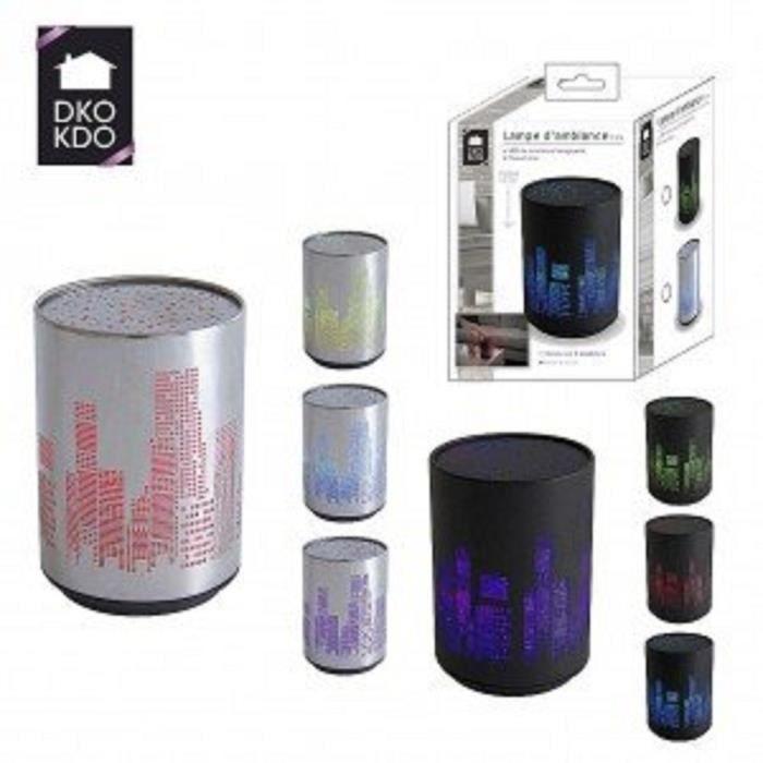 1 lampe led d 39 ambiance au couleur aleatoire achat. Black Bedroom Furniture Sets. Home Design Ideas