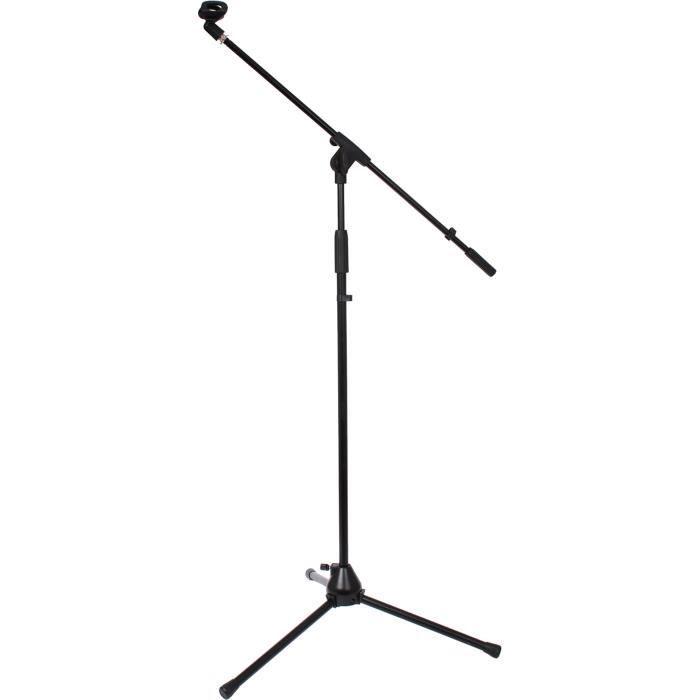 sphynx sp ms 1 blk pied de micro t l scopique noir microphone accessoire prix pas cher. Black Bedroom Furniture Sets. Home Design Ideas
