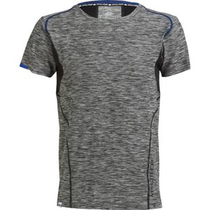 ATHLI-TECH T-Shirt Homme Cader - Manches Courtes - Anthracite Chine