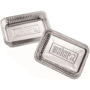 WEBER Petites barquettes en aluminium - 10 pi?ces