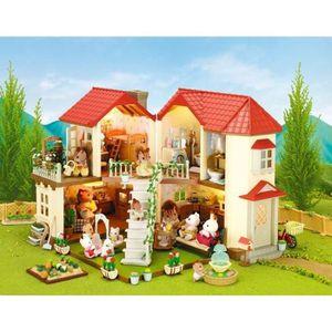 FIGURINE - PERSONNAGE SYLVANIAN 2752 Grande Maison Tradition Éclairée