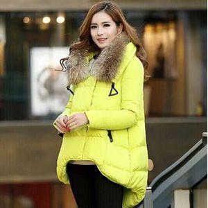 DOUDOUNE Manteau Femme Mode irrégulier doudoune En hiver