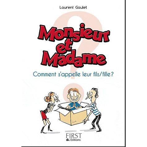 Monsieur et madame ont un fils ou une fille achat vente livre laurent gaulet editions - Un ou une thermos ...