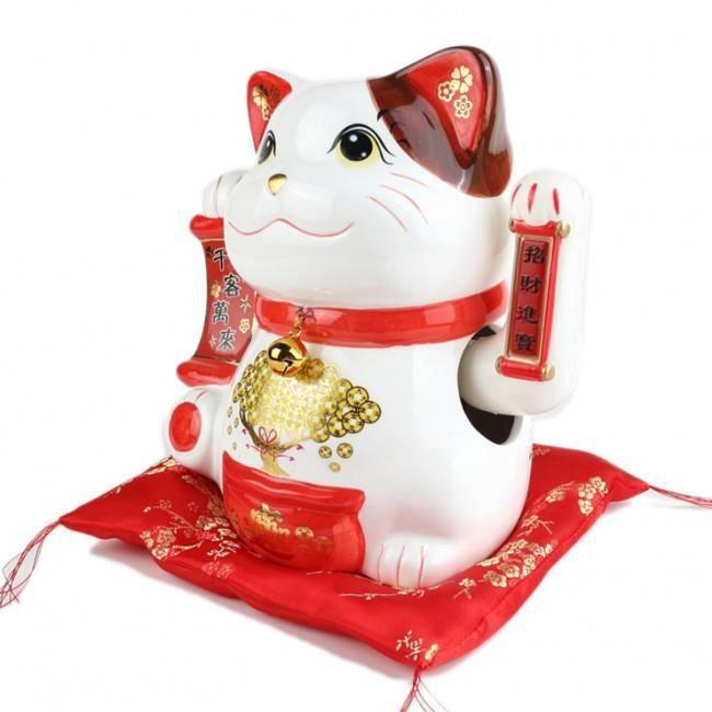 chat porte bonheur achat vente chat porte bonheur pas cher cdiscount