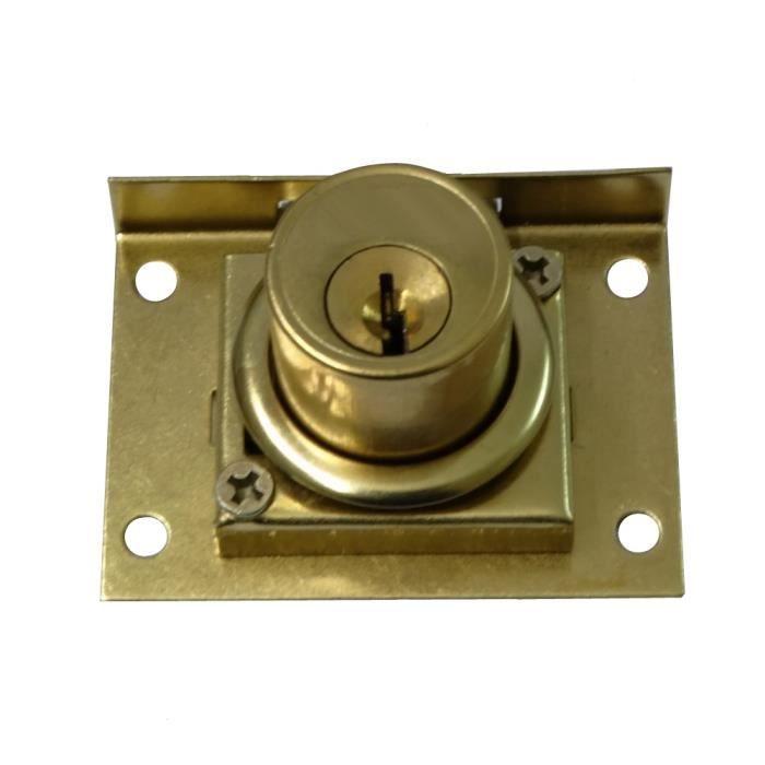 Aerzetix serrure cylindre pour bo te aux lettres avec 2 - Changer serrure boite aux lettres ...