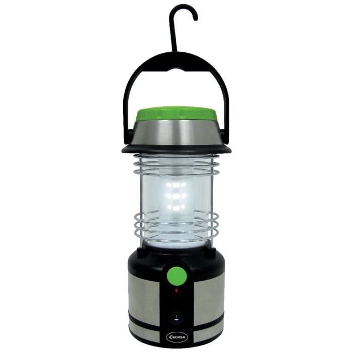 lampe camping led cegasa rechargeable achat vente lampion torche lampe camping led. Black Bedroom Furniture Sets. Home Design Ideas