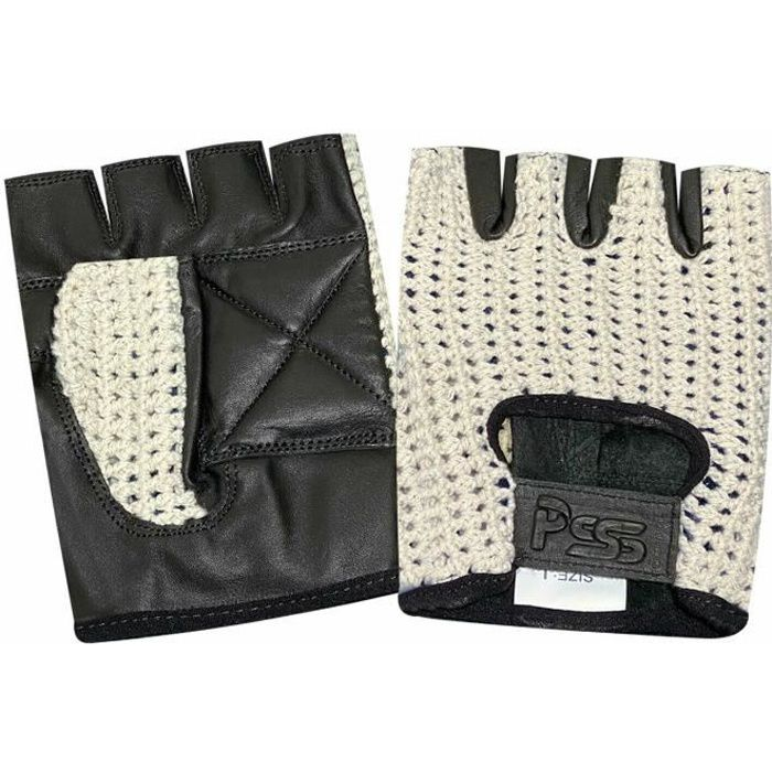 gants de v lo en cuir et maille paisse prix pas cher cdiscount. Black Bedroom Furniture Sets. Home Design Ideas