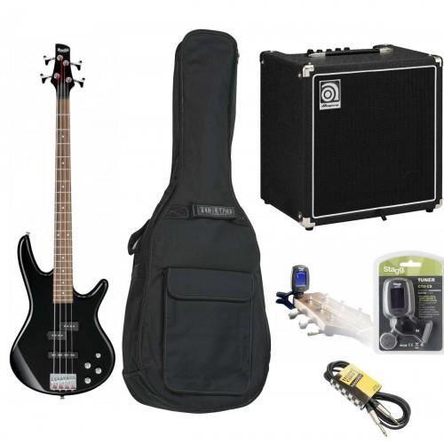 pack complet guitare basse ibanez gsr200 noire avec ampli. Black Bedroom Furniture Sets. Home Design Ideas