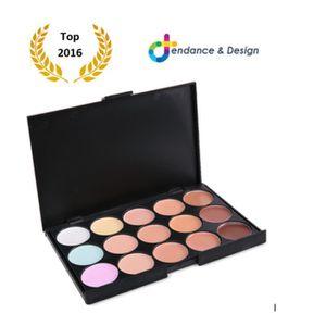 PALETTE DE MAQUILLAGE  T&D® Palette de Maquillage 15 couleurs Professionn