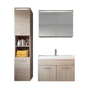 meuble salle de bain 80 cm achat vente meuble salle de bain 80 cm pas cher les soldes sur. Black Bedroom Furniture Sets. Home Design Ideas