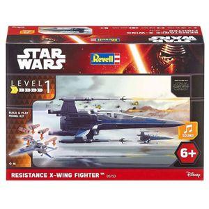 VAISSEAU À CONSTRUIRE STAR WARS Build & Play X-Wing Fighter Maquette Pou