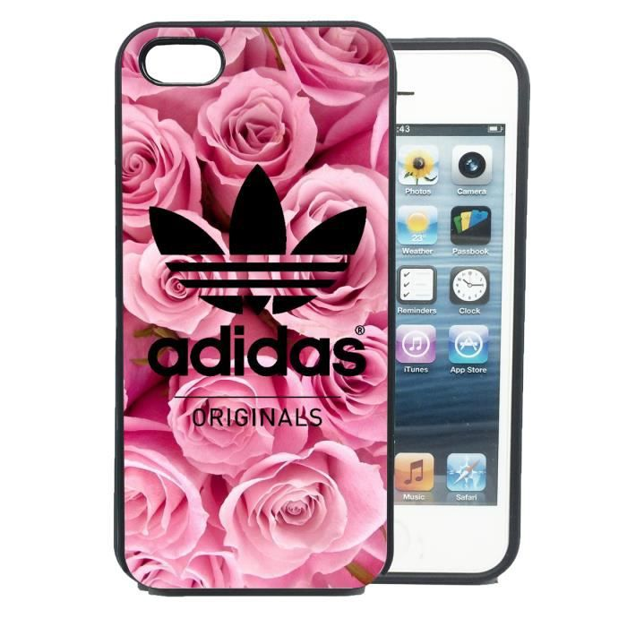coque iphone 5s adidas rose swag vintage etui housse. Black Bedroom Furniture Sets. Home Design Ideas