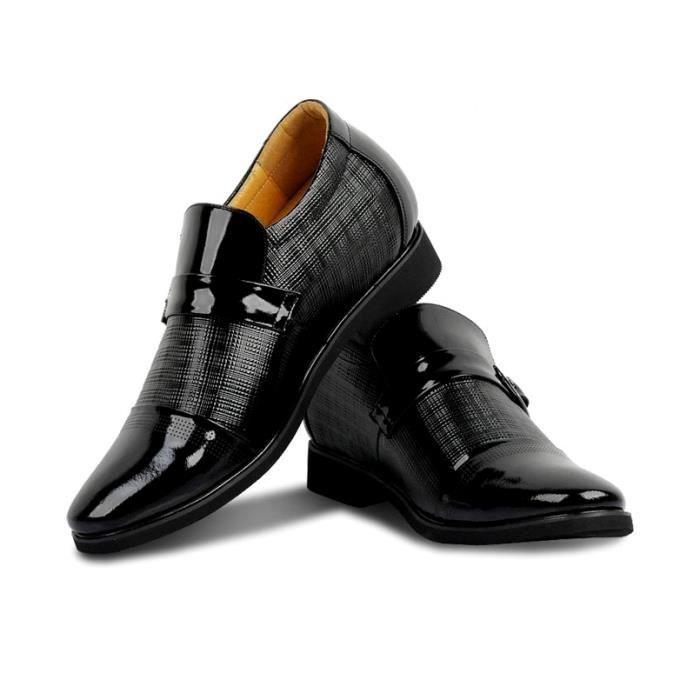 c939f29384e0ec Chaussures Homme Luxe Compensées Réhaussées T43 ...