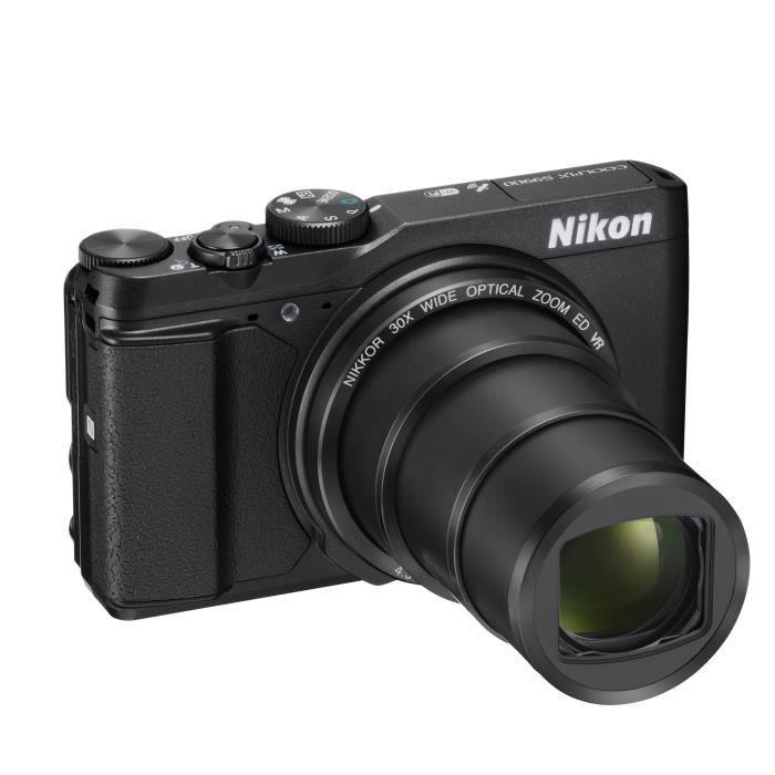 nikon coolpix s9900 noir appareil photo num rique compact achat vente appareil photo compact. Black Bedroom Furniture Sets. Home Design Ideas