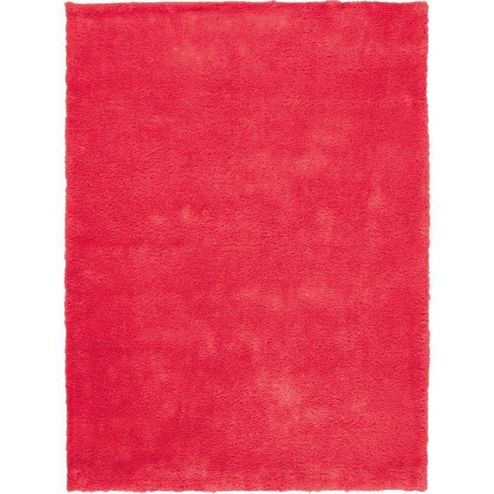 papilio tapis fluo rouge 70 cm rond les couleurs intensives apportent le printemps chez vous. Black Bedroom Furniture Sets. Home Design Ideas